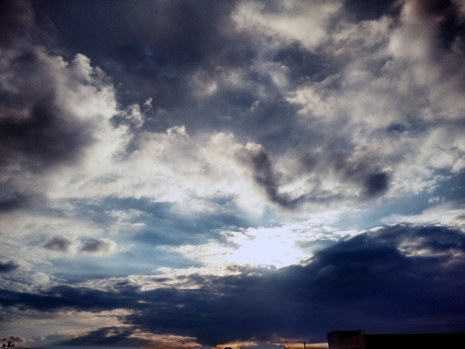 Cloudy...