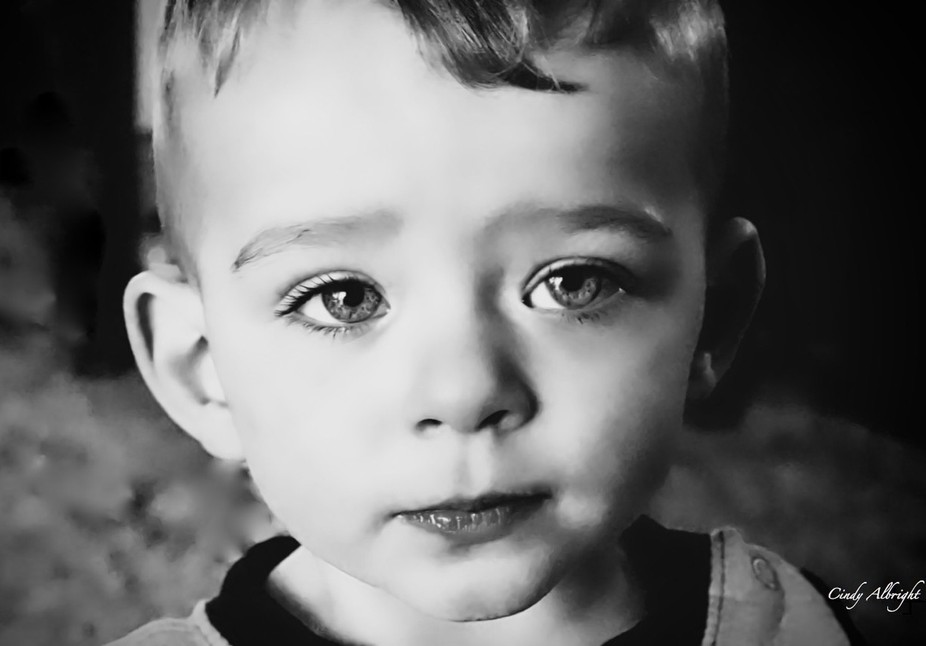 No words can touch what innocent eyes speak.