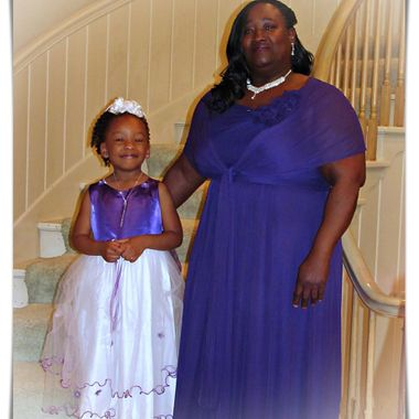 Matron of Honor and Flower Girl