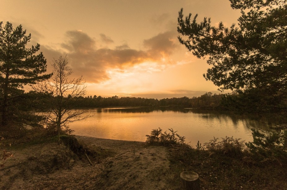 Bawsey sunset