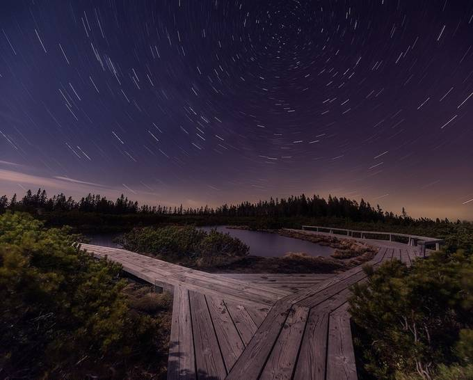 Startrails by daniturphoto - Composition And Leading Lines Photo Contest