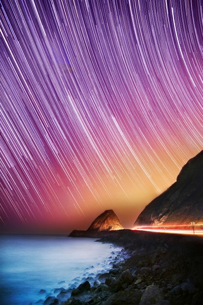Stars Falling Into The Ocean