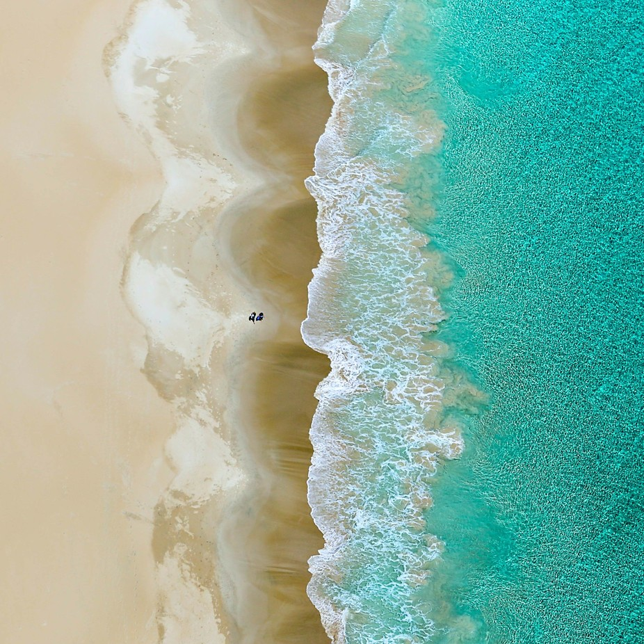 A Stroll on the Beach  by Hamster7 - Above The Earth Photo Contest