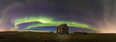 Pano of abandoned house - Ásláksstaðir
