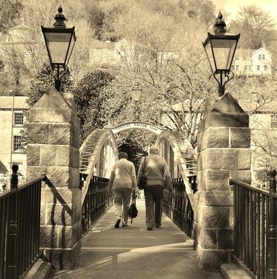 Matlock Bridge Derbyshire