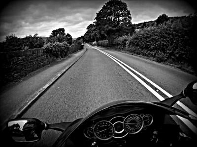motorcycle roads Wales