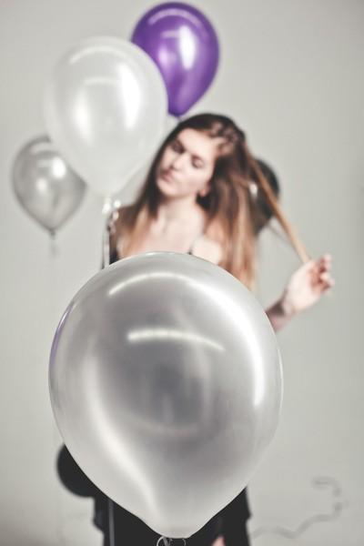 Brooke and Balloons III