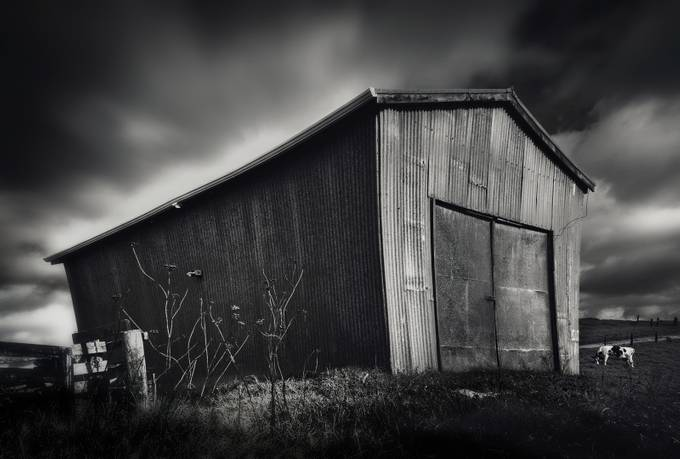 quirky barn on hill by firerae - Warehouses Photo Contest