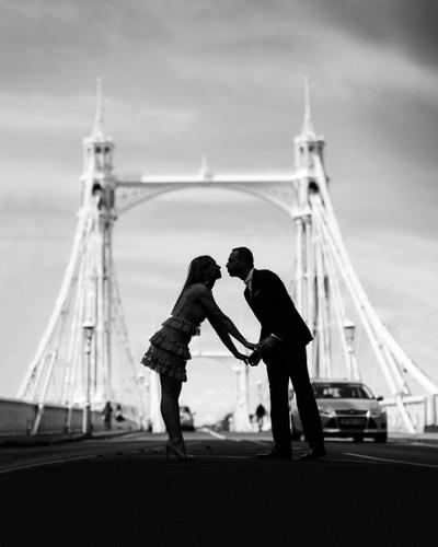 Love on Albert Bridge