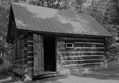 A Cabin In The Woods ........ Invites You In.