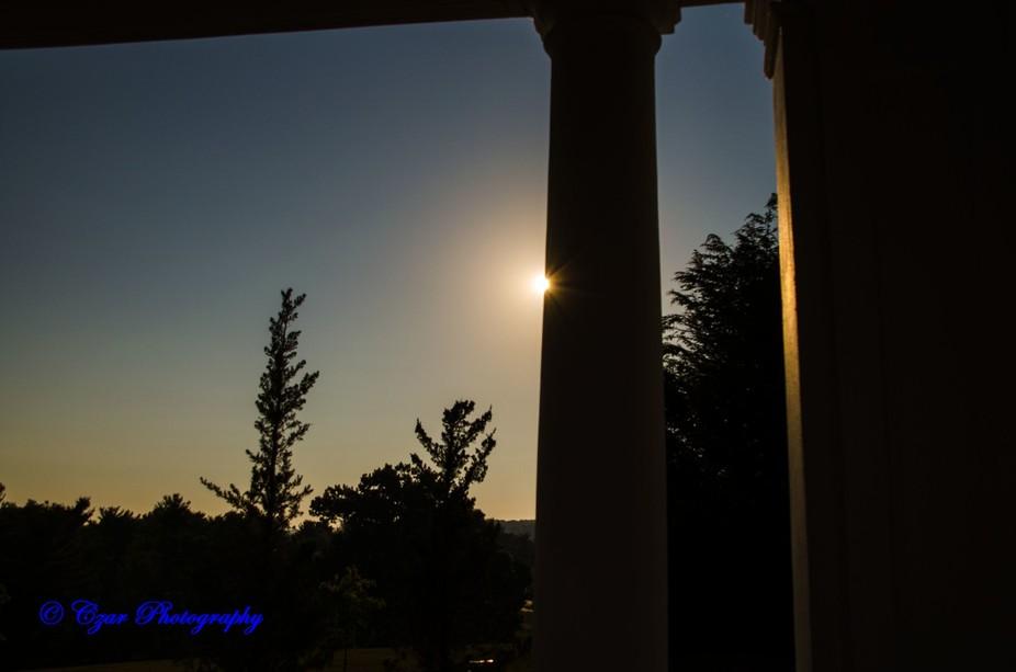 Sunrise capture at the Hershey Hotel