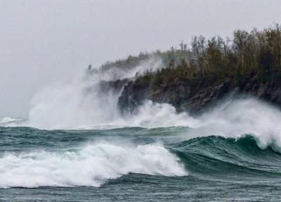 Storm at Split Rock