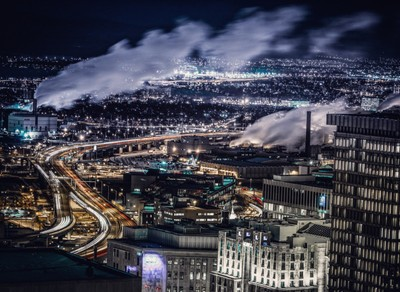 Cityscape Quebec Downtown