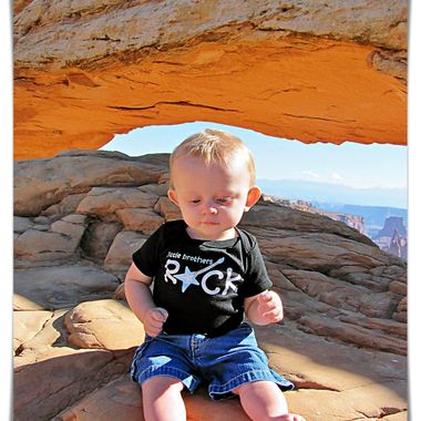 Mesa Arch with Baby