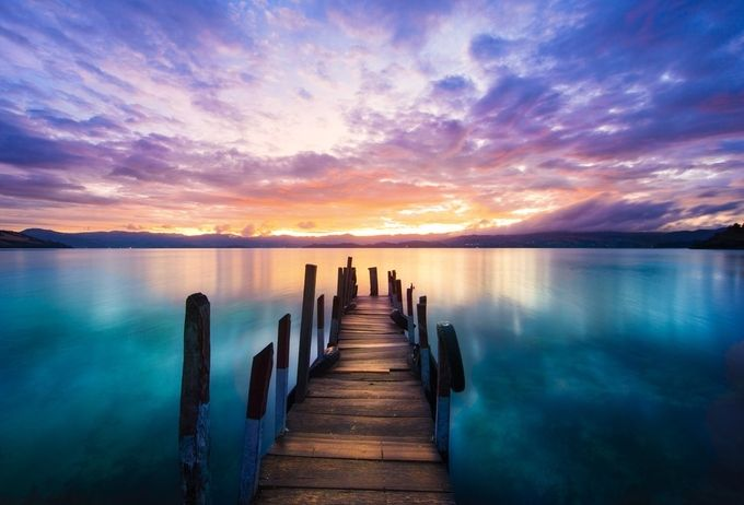 Tota's Lake by srmaophoto - Promenades And Boardwalks Photo Contest