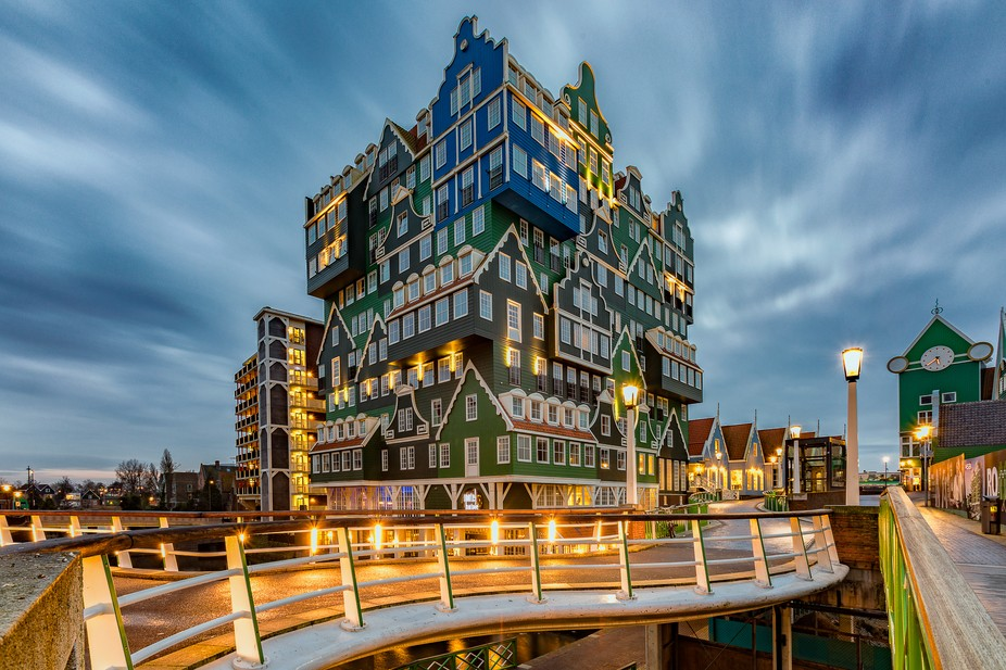 The Inntel Hotels Amsterdam Zaandam is a visually stunning 4 star hotel has an impressive façade...