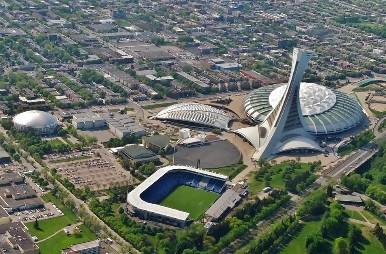 Stade Olympique de Montréal, Québec, Canada