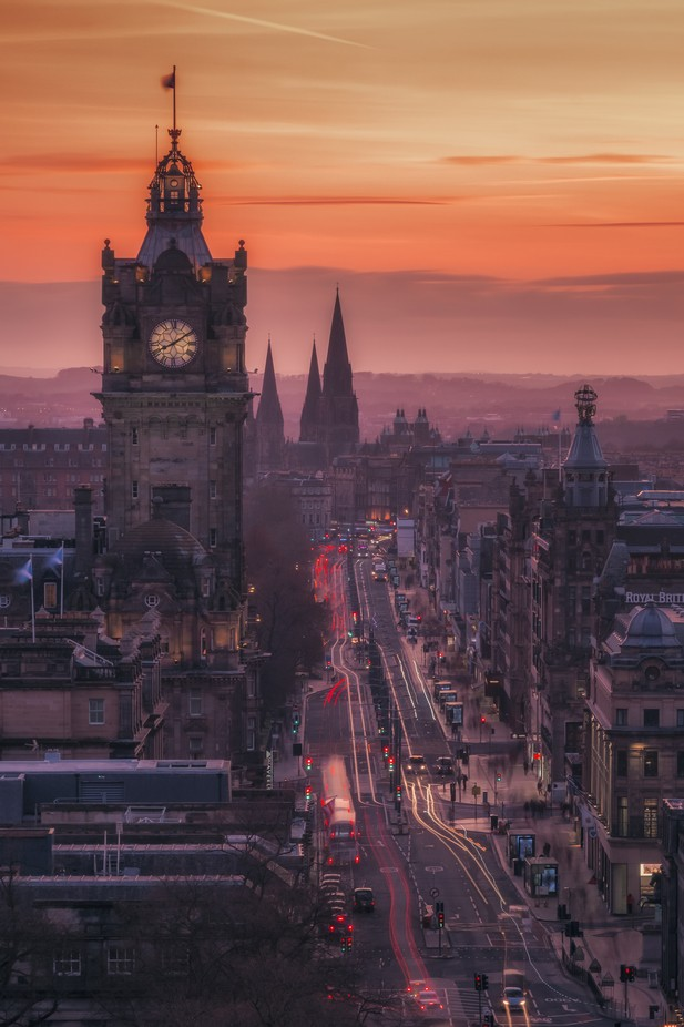 Princes Street by Vemsteroo - Rooftops Photo Contest 2018