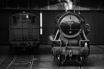 90733 in Greyscale