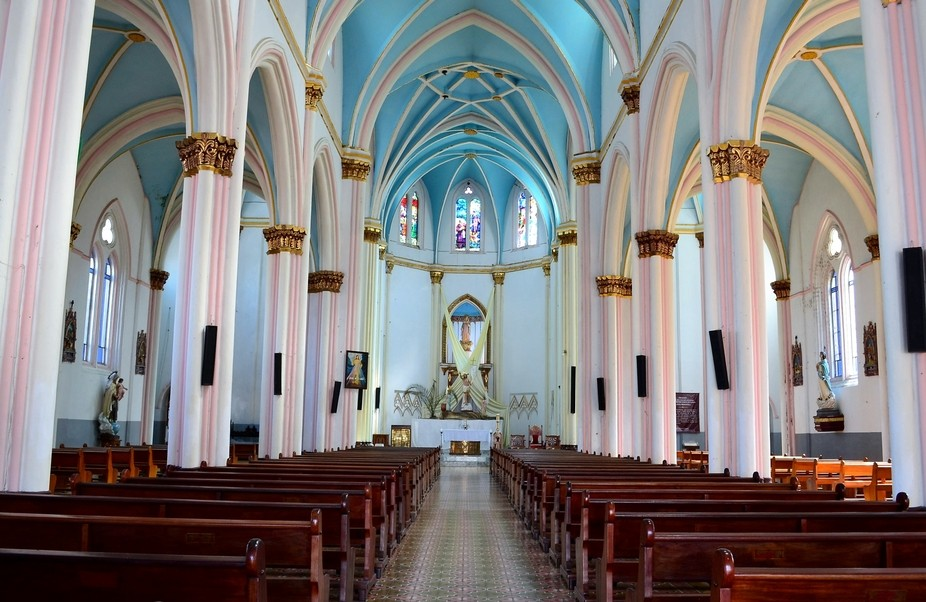 A beautiful Santuary in Jerico, Colombia, S.A.