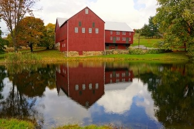Reflections of a Barn