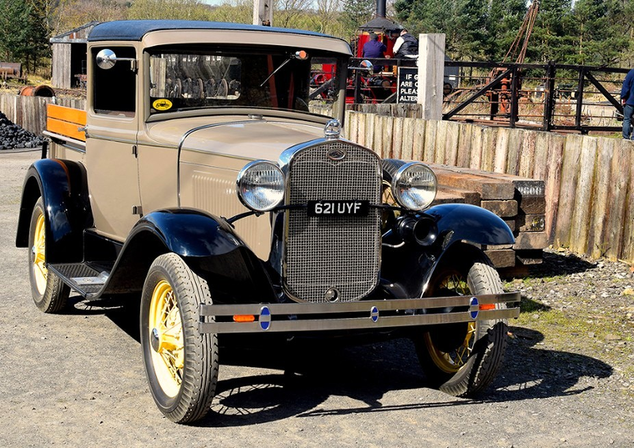 Ford Model A Pickup 1