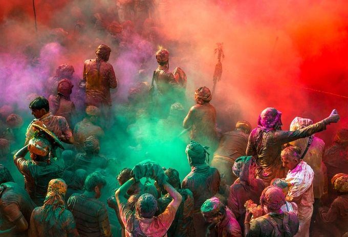 nandgaon holi  by sarthakpatnaik - My Best Shot Photo Contest Vol 2