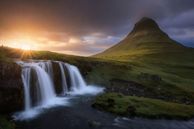 Breakthrough by Davemce - Iceland The Beautiful Photo Contest