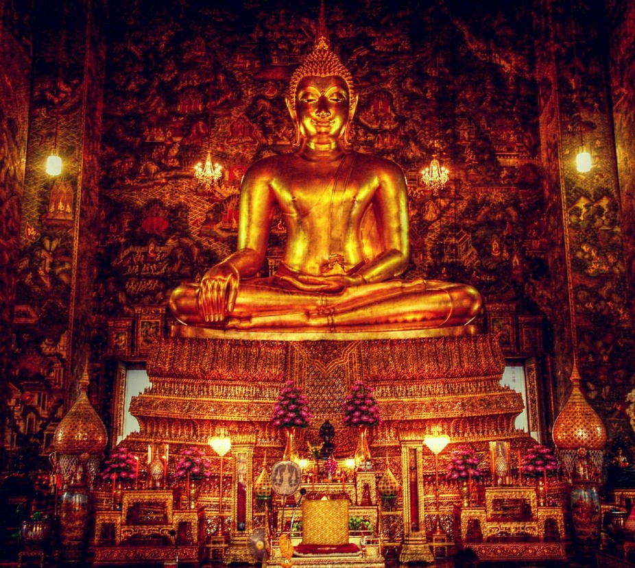 Beautiful temple, discovered in Bangkok Thailand