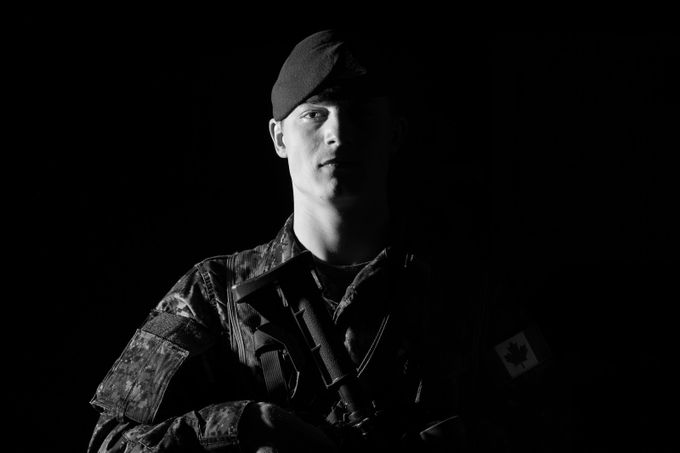 military by genevievelapointe - The Face Of A Man Photo Contest