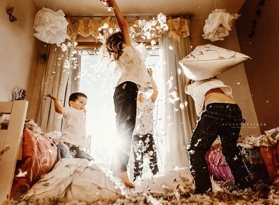 The Most Epic Pillow Fight