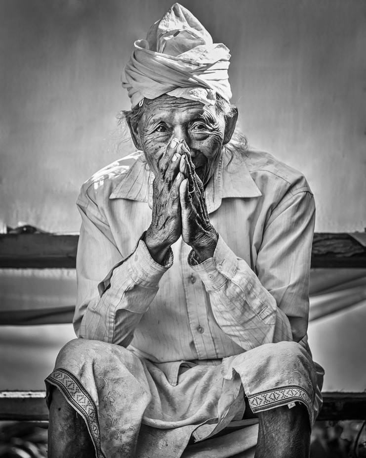 The Temple Priest by Hamster7 - Cultures of the World Photo Contest