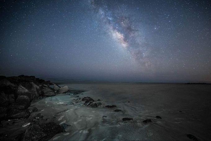 Milky Way at Folly Beach, Sc by dawnhammannvanauken - Night Wonders Photo Contest