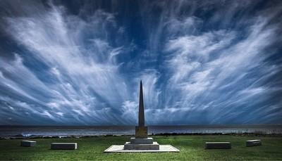 """""""Spire"""" 1614 Monument -Rye Beach, Rye New Hampshire, United States"""