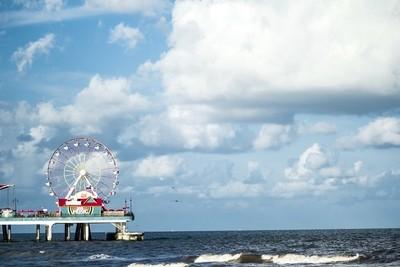 Ferris Wheel by the Ocean