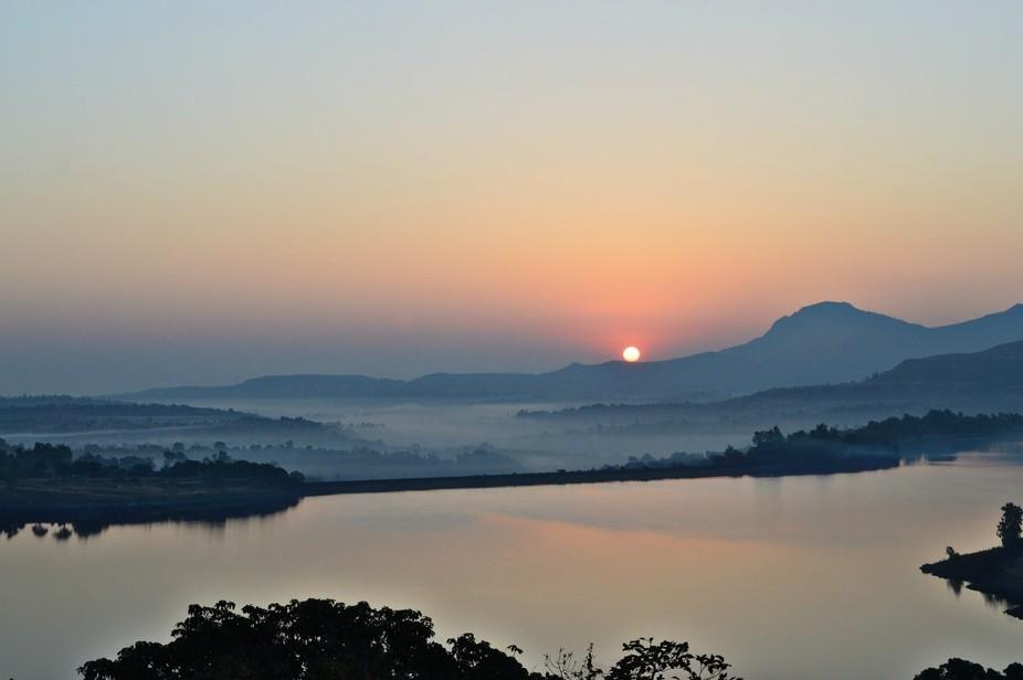 Photography at Bhandhardhara Sunrise photography