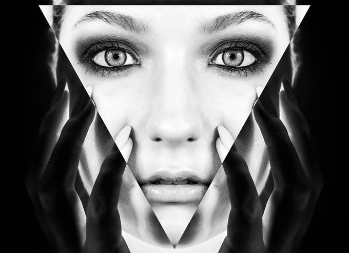 Contrasting Face by elyprosser - The Magic Of Editing Photo Contest