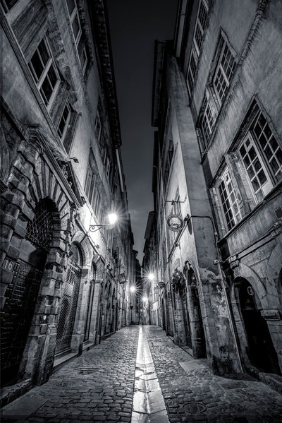 Street of the beef at the Old Lyon