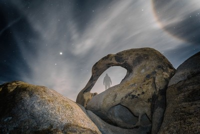 Cosmic Soul II - Alabama Hills, California