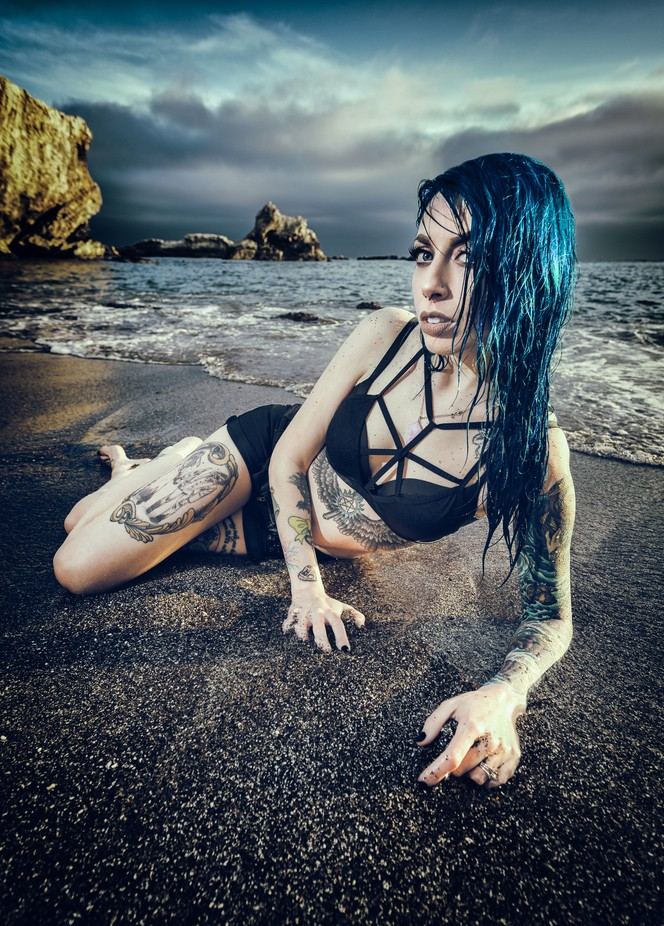Samantha Luna by cmwieber - People And Water Photo Contest 2017