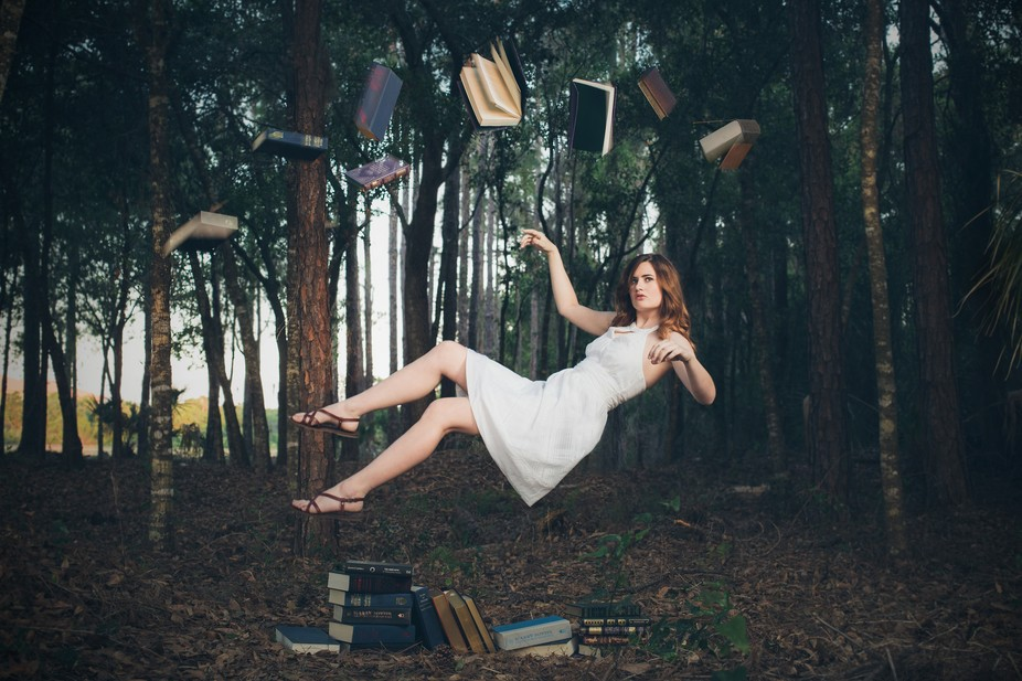 Floating in books
