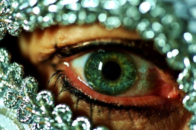 Eye Spy by Christina_Guest - Green Eyes Photo Contest