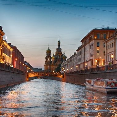I took this photo when me and family were visiting St. Petersburg. From St. Petersburg we went on a boat trip on the Volga River which took about a week.