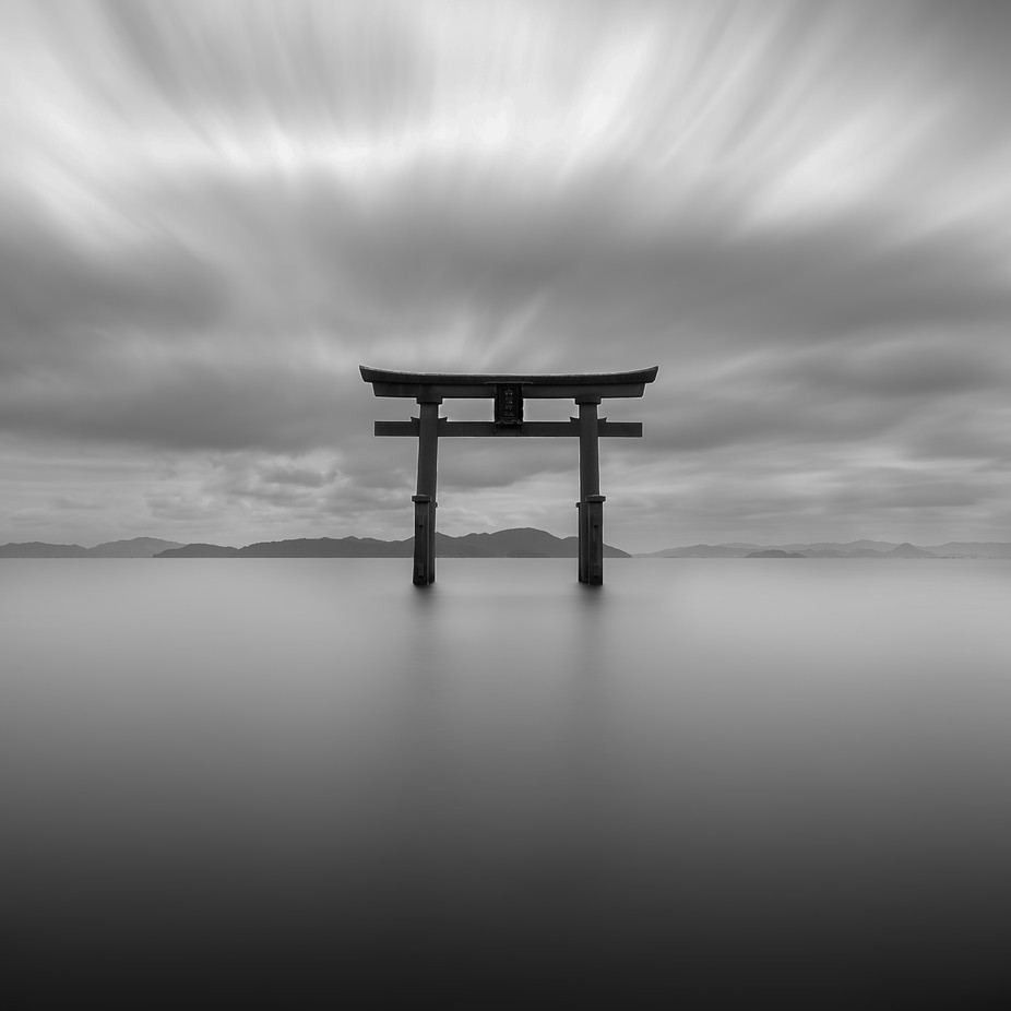 Shirahige Shrine by gregmetrophotography - The Moving Clouds Photo Contest