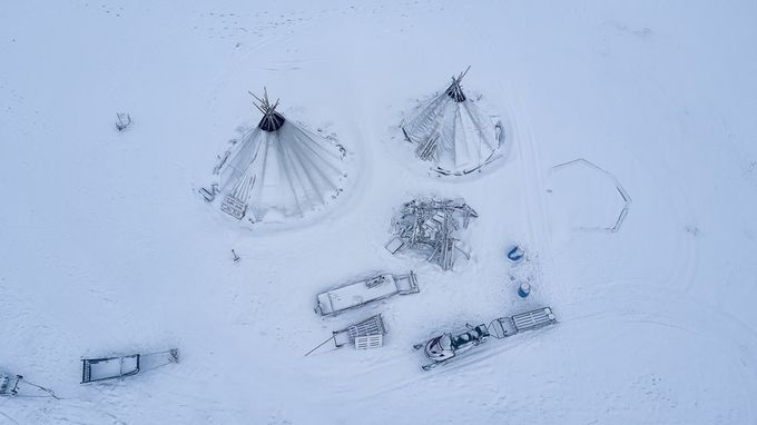 Bird's eye view by zlimmen - Composing With Circles Photo Contest