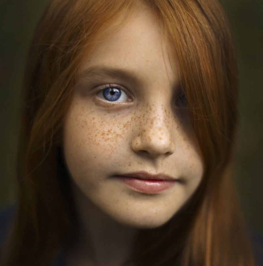 Аня by polinamishurinskaya - Faces With Freckles Photo Contest