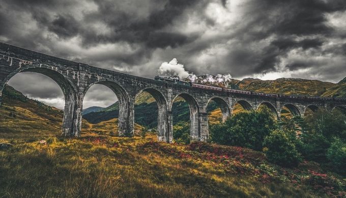 Scotland by rowanke - Spectacular Bridges Photo Contest