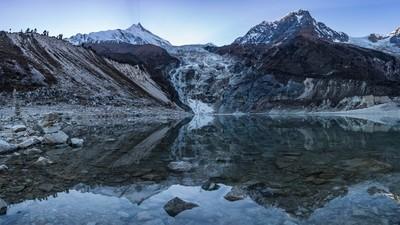 Birendra lake reflection