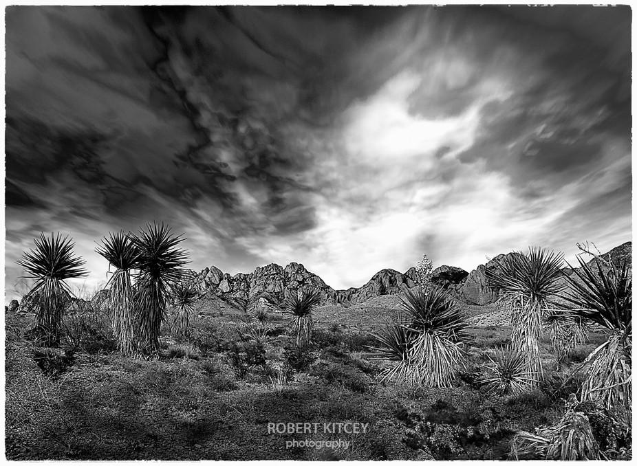 Stormy Desert Skies