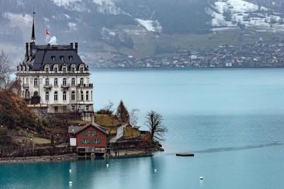 Castle of Iseltwald, Switzerland